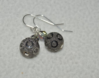 Sterling Silver and Swarovski Earrings