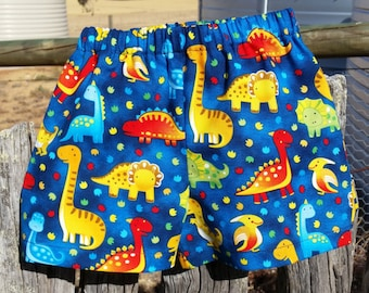 Dinosaur Size 2 Toddler Shorts