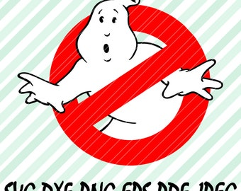 Ghostbusters SVG DXF Png Eps Pdf Layered Cutting Vector Files Cricut Designs Silhouette Cameo Party Decorations Cut Vinyl Tshirt Decal etc