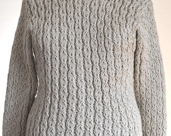 SALE! Hand Knitted Women Sweater, Sweater for women, Elegant Clothing, Knitting, Warm Sweater, Warm Knit Clothes, Winter Sweater