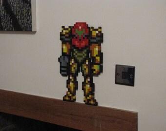 3D Metroid Art. Nintendo Pixel Art