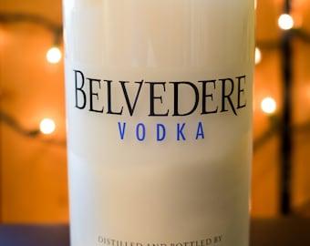 Belvedere Vodka - Custom - Liquor Bottle Soy Candle