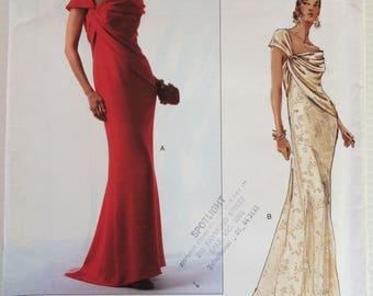Vogue Designer Original - Bellville Sassoon 2774 sewing patter - Misses' evening dress