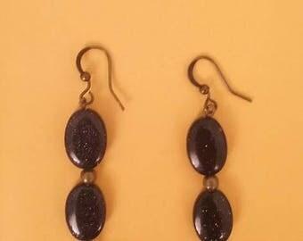 My Blue Period Starry Night earrings