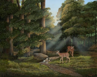 August Fawns- Print Limited Edition
