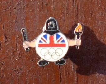 Lapel pin Olympic/Police