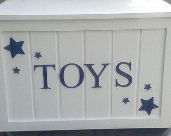 Hand Crafted Toy Box