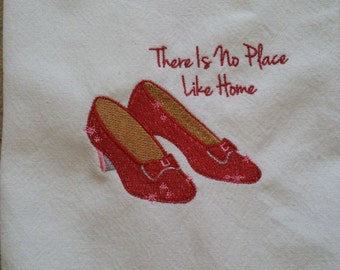 Ruby Slippers Towel