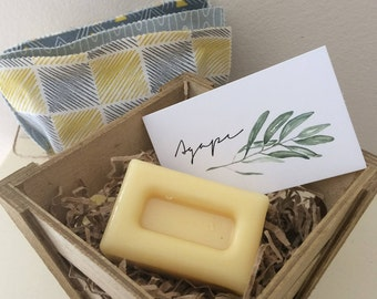 Cocoa Butter Body Bar, all natural, Greek products, homemade