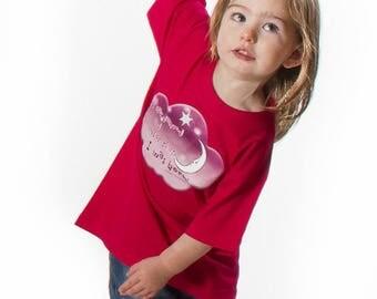 A star danced...  - Kids Tops - Girls T Shirt