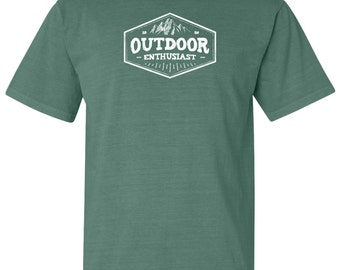 National Park Outdoor Enthusiast Adventure Comfort Colors TShirt