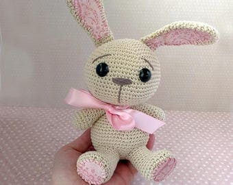 Crochet Rosso rabbit amigurumi /rabbit / crochet doll