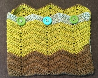 Ready to Ship! Crochet Laptop Sleeve