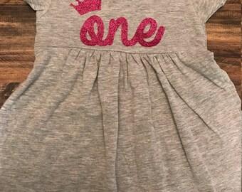 1st Birthday Dress, cotton sundress 12-18 months