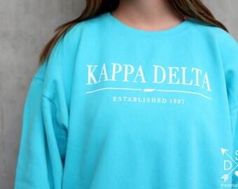 Kappa Delta Tennessee State Sweatshirt - XL