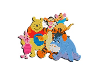 Winnie the Pooh Embroidery design - Machine embroidery design