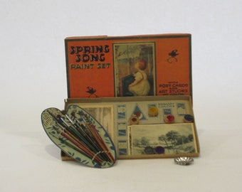 Spring Song 1920's Paint Set