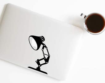 Desk Lamp Decal Pixar Lamp Sticker for Macbook Laptop Trackpad Notebook Tablet Car Window Wall sticker 444