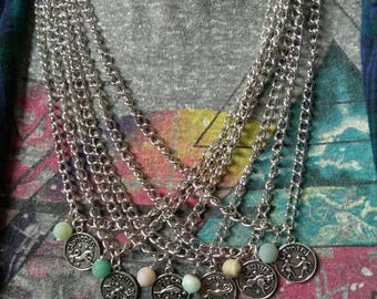Amazonite Zodiac Necklaces