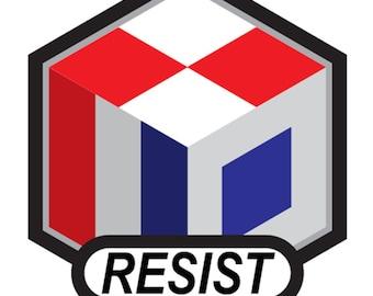 RESIST Decal - 5 pack