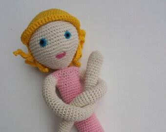 Sabine, crochet doll