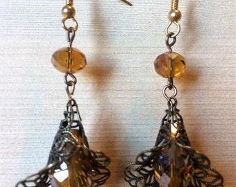 Amber Romance Earrings