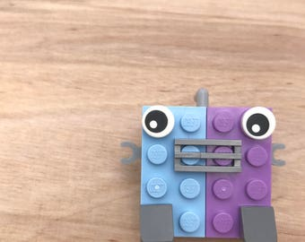 LEGO® Robot Brooch/ Pin Pal/ B0t Bot Pin