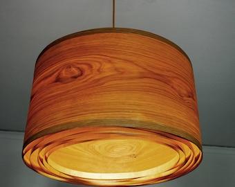 Wood Veneer Lamp Etsy