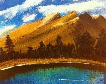 Original Oil Painting, Landscape Oil Painting, Original Art, Canvas Painting, Trees Oil Painting, Landscape Art, New Art, Tree Painting.