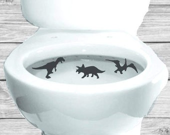 Potty Training Dinosaur Aim Targets Taking Aim Toilet Target 3 Piece Collection