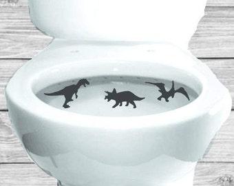 Potty Training Dinosaur Aim Targets Taking Aim Toilet Target 3 Piece Collection