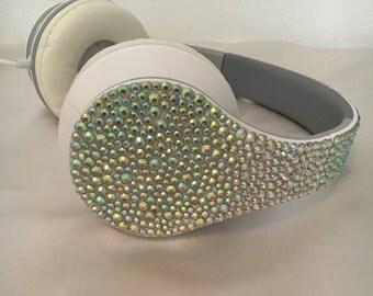 Rhinestone Foldable Headphones