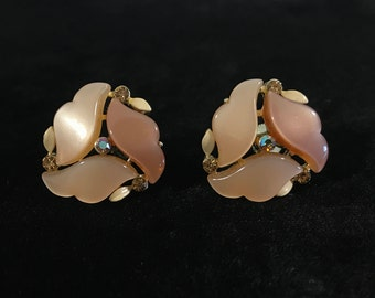 Signed Lisner Vintage Earrings