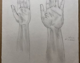 Hand Study in Graphite