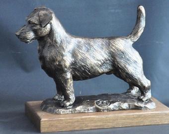 Jack Russel Terrier - unique dog sculpture