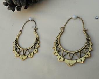 Hoops,Ethnic Earrings,lace hoop,geometric Earrings,boho hoop earrings,gypsy earrings,round earrings,gypsy hoops,boho hoop,tribal hoops,lace
