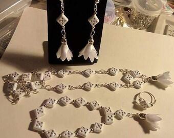 White Diamonds 4 pc Set