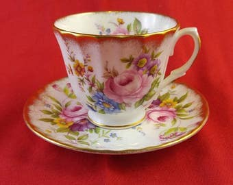 REDUCED  Vintage Royal Winchester Cup and saucer  #41