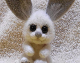 Wool Interior Toy Rabbit, Hare, bunny
