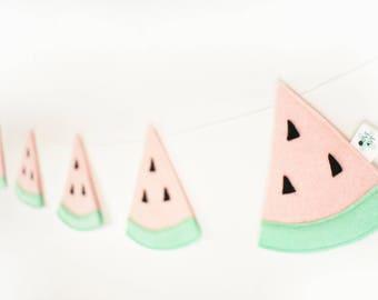 Watermelon - Watermelon Birthday - Watermelon Birthday Banner - Watermelon Decor - Summer Decor - Summer Decorations - Watermelon Baby