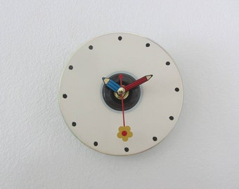 Handmade Clock CD Modern Wall Students Gifts Student Teacher Gift
