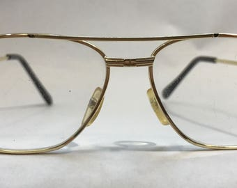 1970's | Vintage Glasses | Gold colored