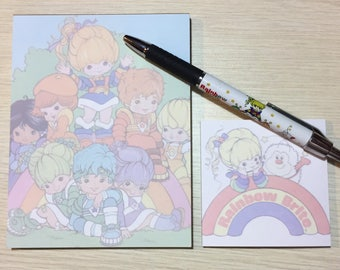 Rainbow Brite and Friends Stationery Set