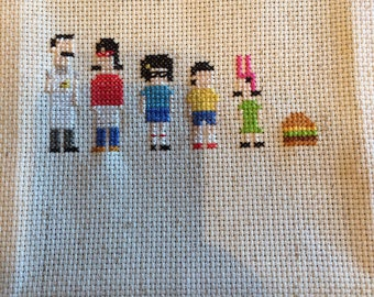 Bobs Burgers Inspired Needlepoint