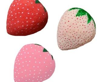 JUMBO/Mini Strawberry Squishy