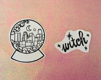 city witch _ custom duo sticker pack