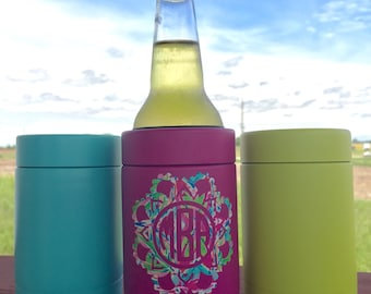 12 oz Powder-Coated Beer Holder, Beverage Keeper, Twist Of, Cans or Bottles