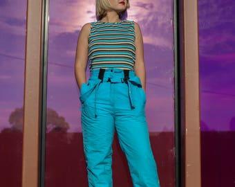 80s Aqua Ski Pants