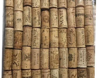 Wine Corks- 50 used, natural