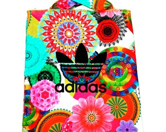 Adidas backpack colorfull